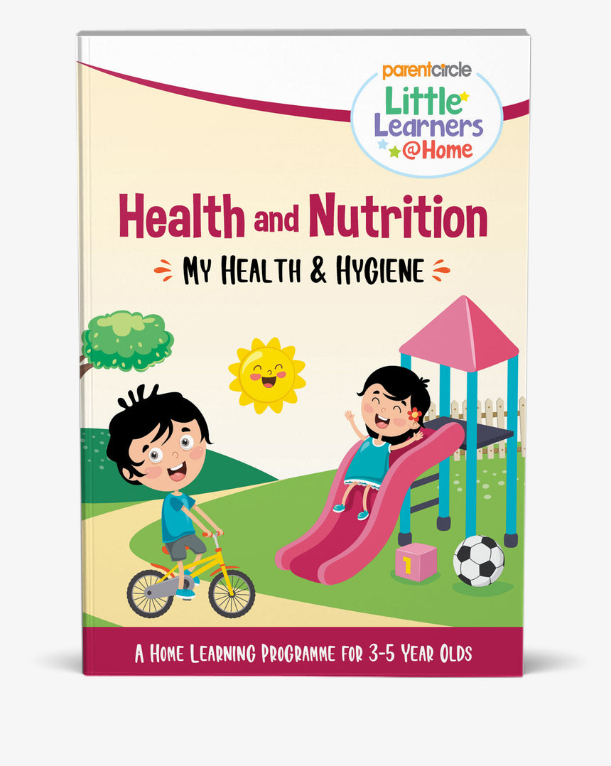 Little Learner@Home Book Series: Health and Nutrition (Book 1) - My Health and Hygiene