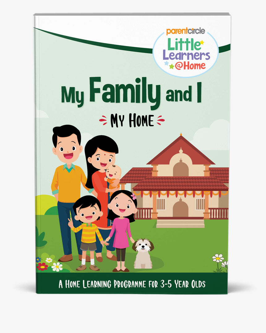My Home Activity Book for 3-5 Year Olds