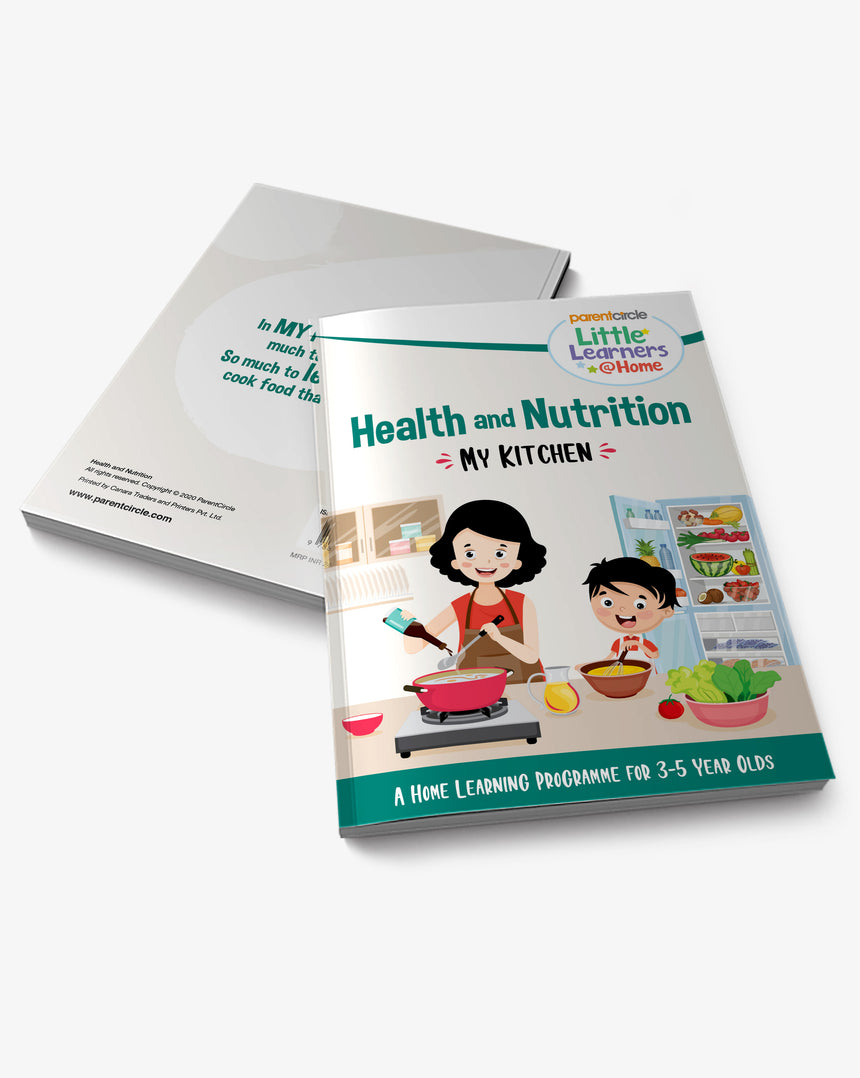 Little Learner@Home Book Series: Health and Nutrition (Book 4) - My Kitchen