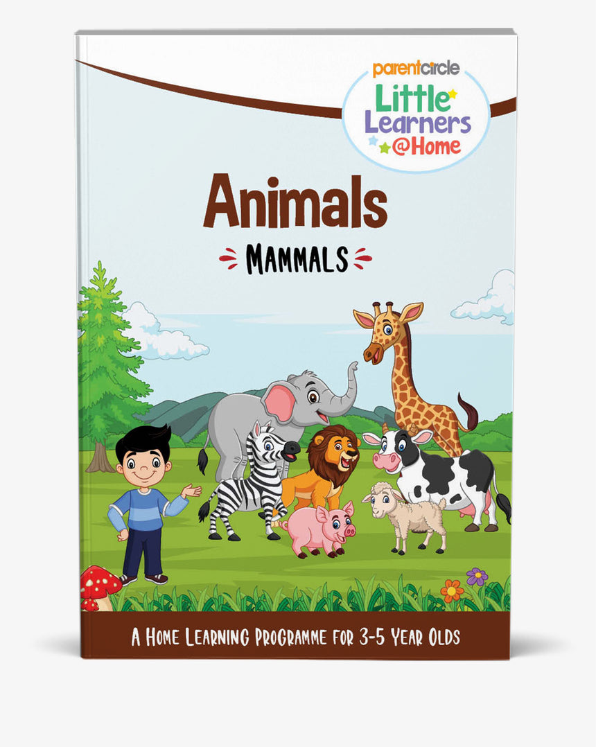Mammals Activity Book for 3-5 year olds