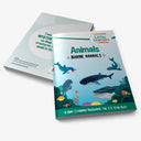 Marine Mammals Activity Book for 3-5 year olds