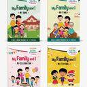 Little Learner@Home Book Series: My Family and I (bundle of 4 books)