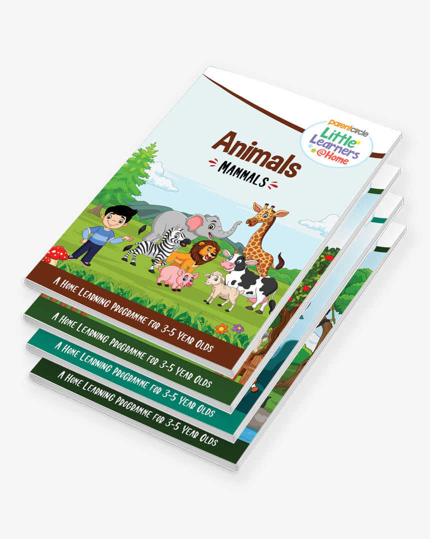 Little Learners@Home Book Series: Animals (Bundle of 4 Books)