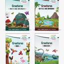Little Learner@Home Book Series: Creatures (bundle of 4 books)