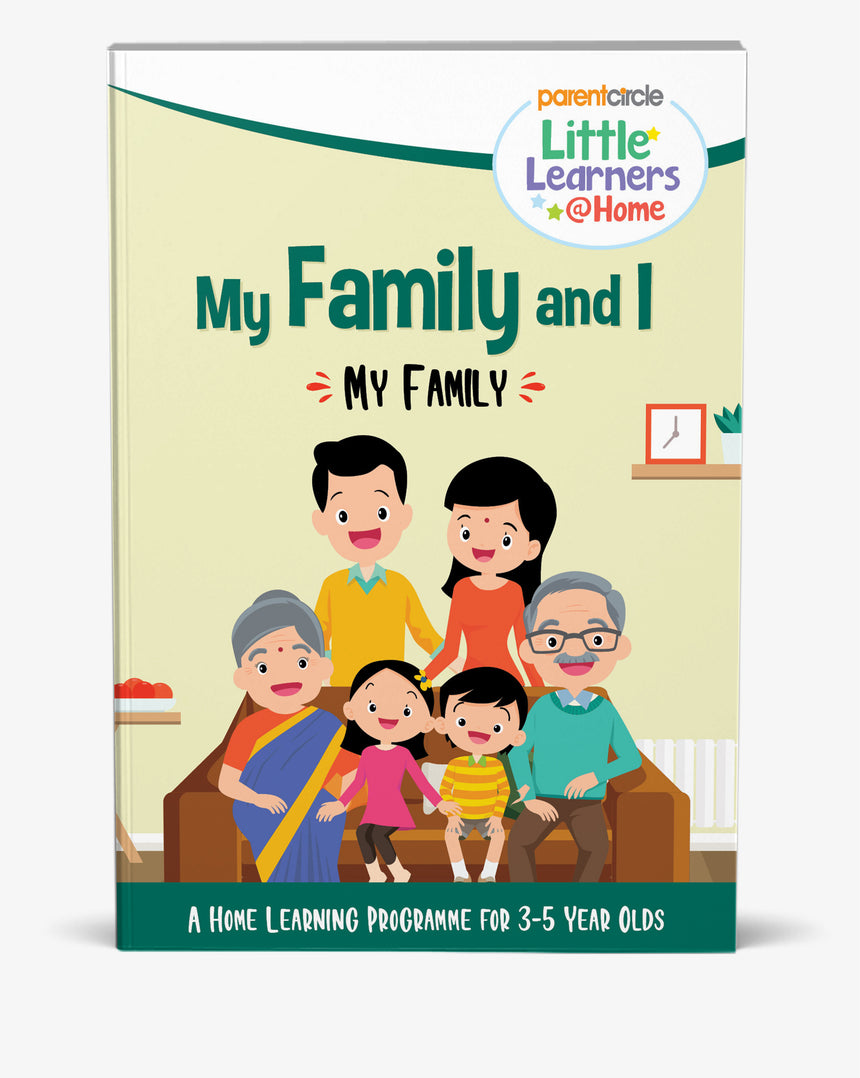 My Family Activity Book for 3-5 Year Olds