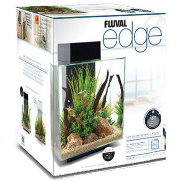 Fluval Edge Aquarium Unit Black 46L