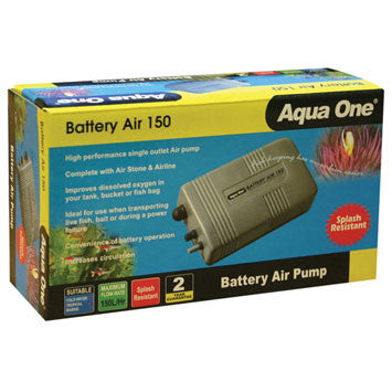 Battery Air Pump Splash Resist 150l /hr