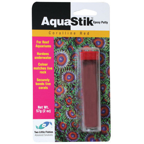 AquaStik Red Coralline Epoxy Putty