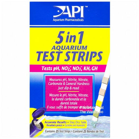 5 in 1 Testing Strips 25pk