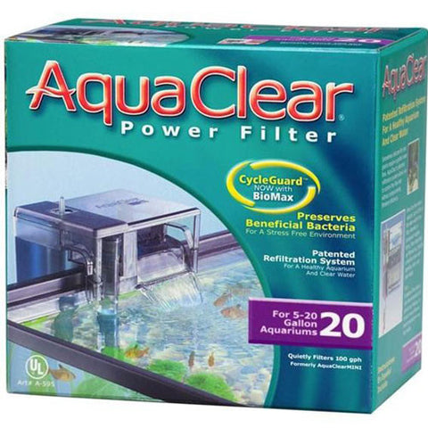 AquaClear 20 Power Filter 378L/hr