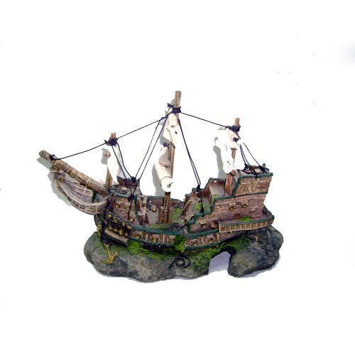 Shipwreck Galleon Sails Medium