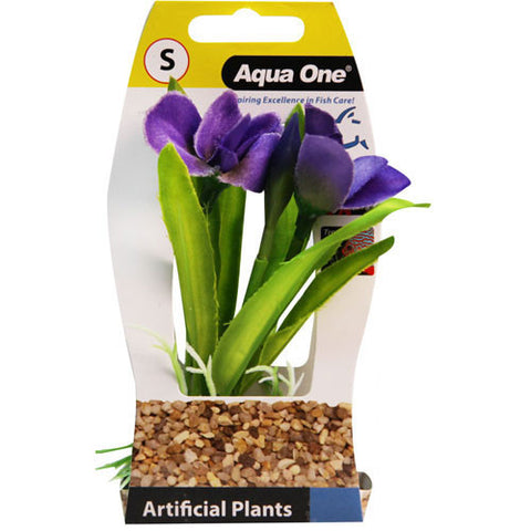 Plastic Plant Violet Small
