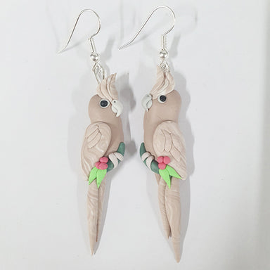 Earrings Cockatiel Cinnamon