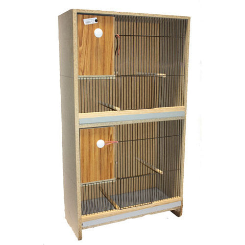 Budgie Breeding Cabinets 2 Storey with Drawer