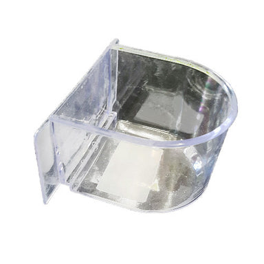 Clear Feeder For Bird Flight Cage