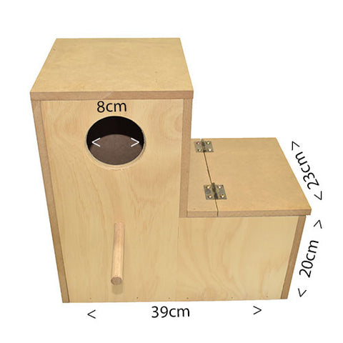 Bird Nest Box L Small