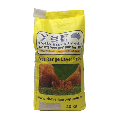 Vella Stock Feeds Layer Pellets 20kg