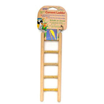 Penn Plax Cement & Wood Frame Ladder 5 Step