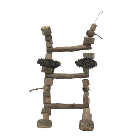 Natural Bird Ladder Small
