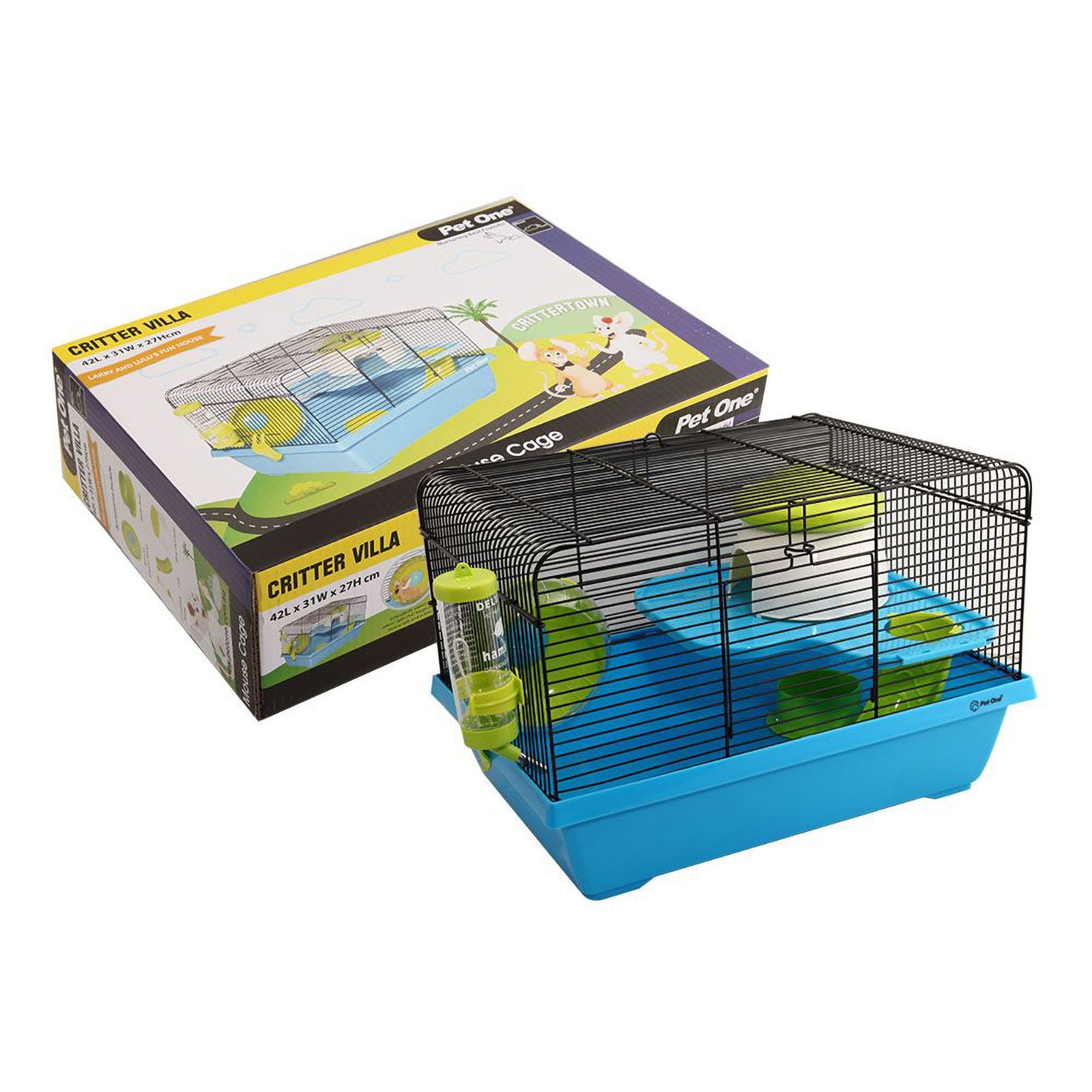 Pet One Critter Villa Mouse Cage