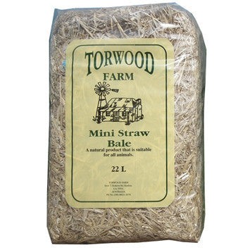 Torwood Farm Mini Straw Bale 22L