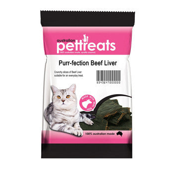 Cat Treat Beef Liver 60g