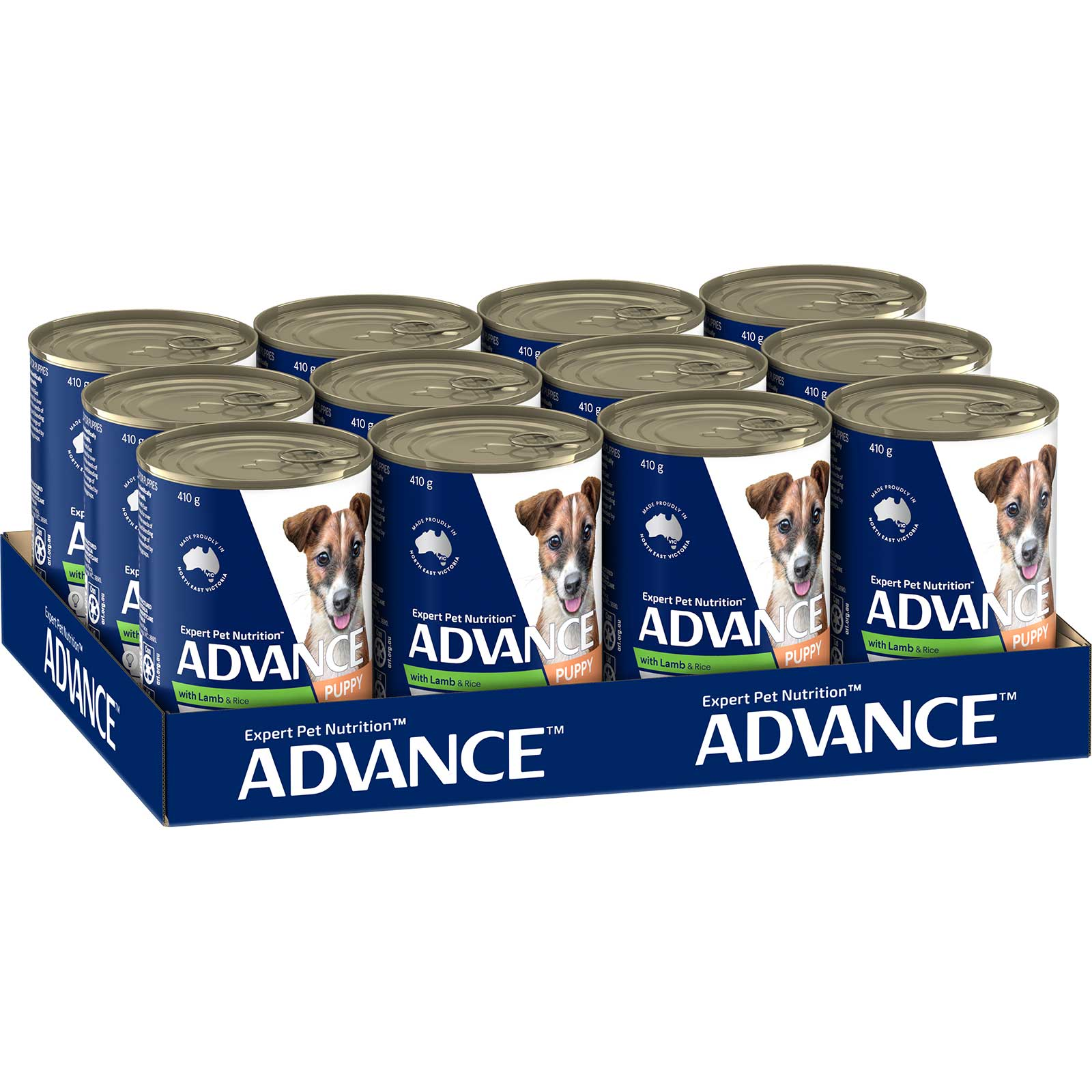 Advance Dog Food Can Puppy All Breed with Lamb & Rice