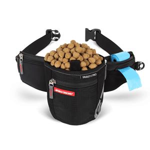 EzyDog Treat Pouch SnakPak PRO Black