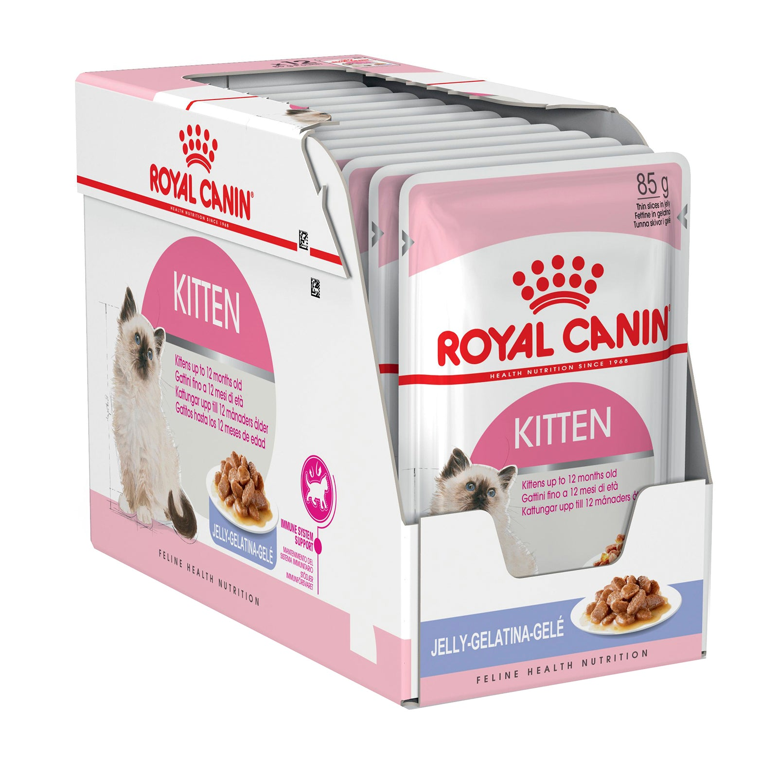 Royal Canin Cat Food Kitten in Jelly Pouch