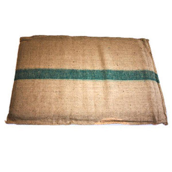 Hessian Foam Dog Bed Large