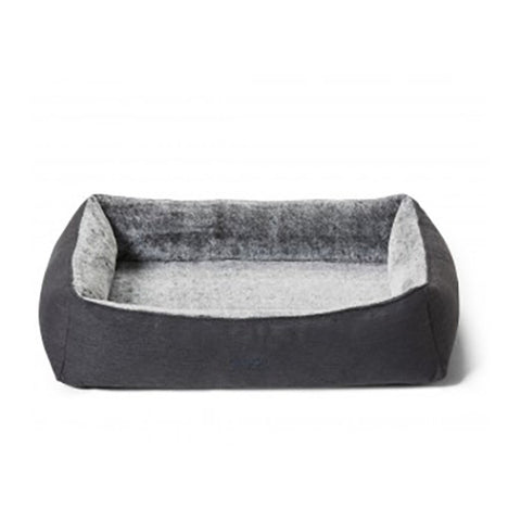Dog Bed Snuggler Chinchilla Sml 65x55cm Snooza