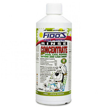 Fido's Fre-Itch Rinse Concentrate for Dogs & Cats