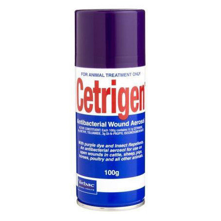 Virbac Cetrigen Antibacterial Spray
