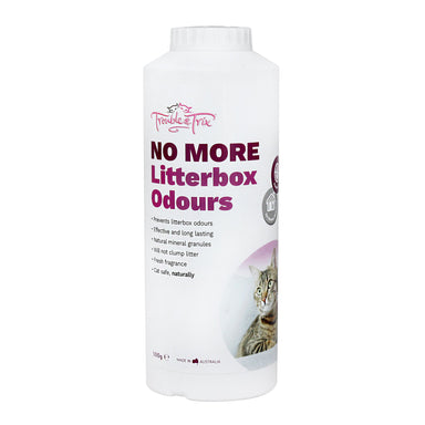 Trouble & Trix No More Odour Powder for Cats 500g