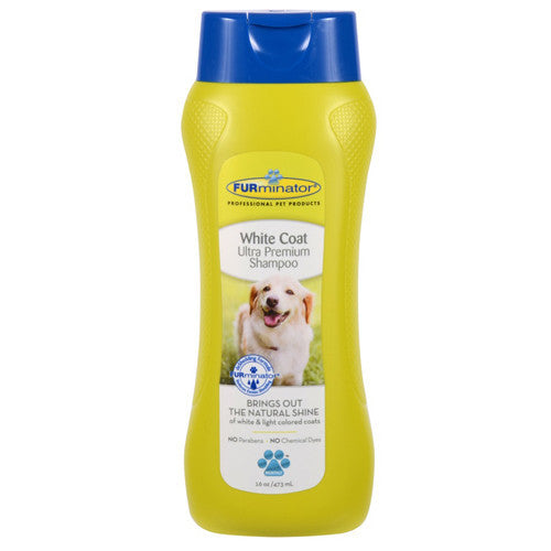 FURminator White Coat Dog Shampoo 473ml
