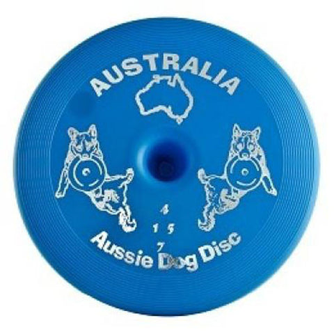 Disc Blue Soft Dog Toy