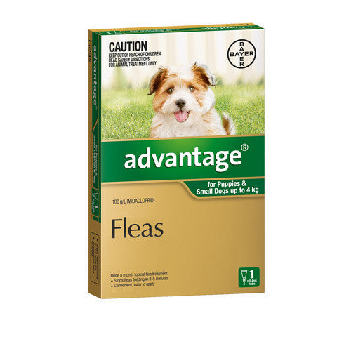 Advantage Dog Up To 4kg 1pk