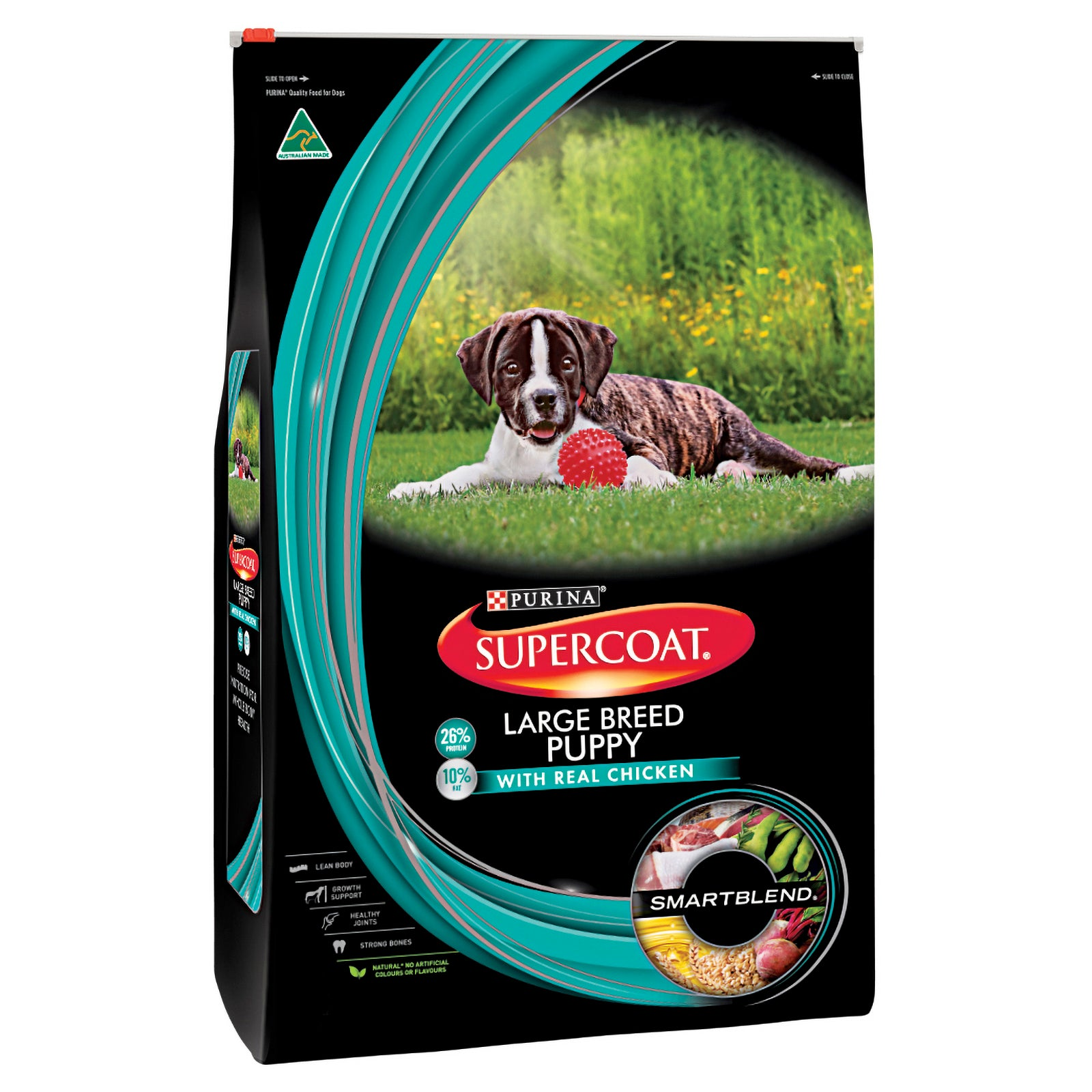 Supercoat Dog Food Puppy Large Breed Chicken