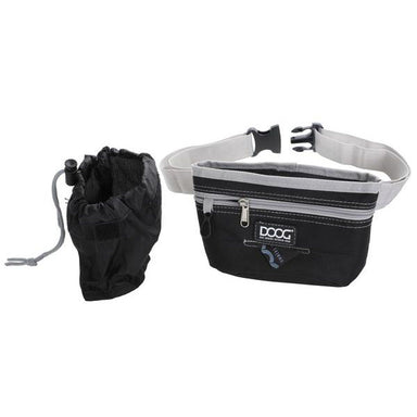 DOOG Treat Pouch Large Black/Grey