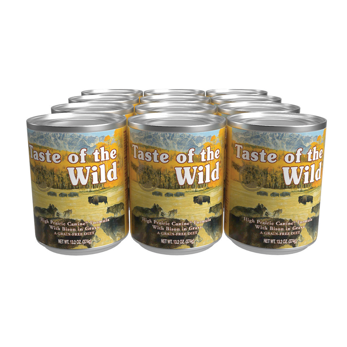 Taste Of The Wild Dog Food Can High Prairie Bison & Venison