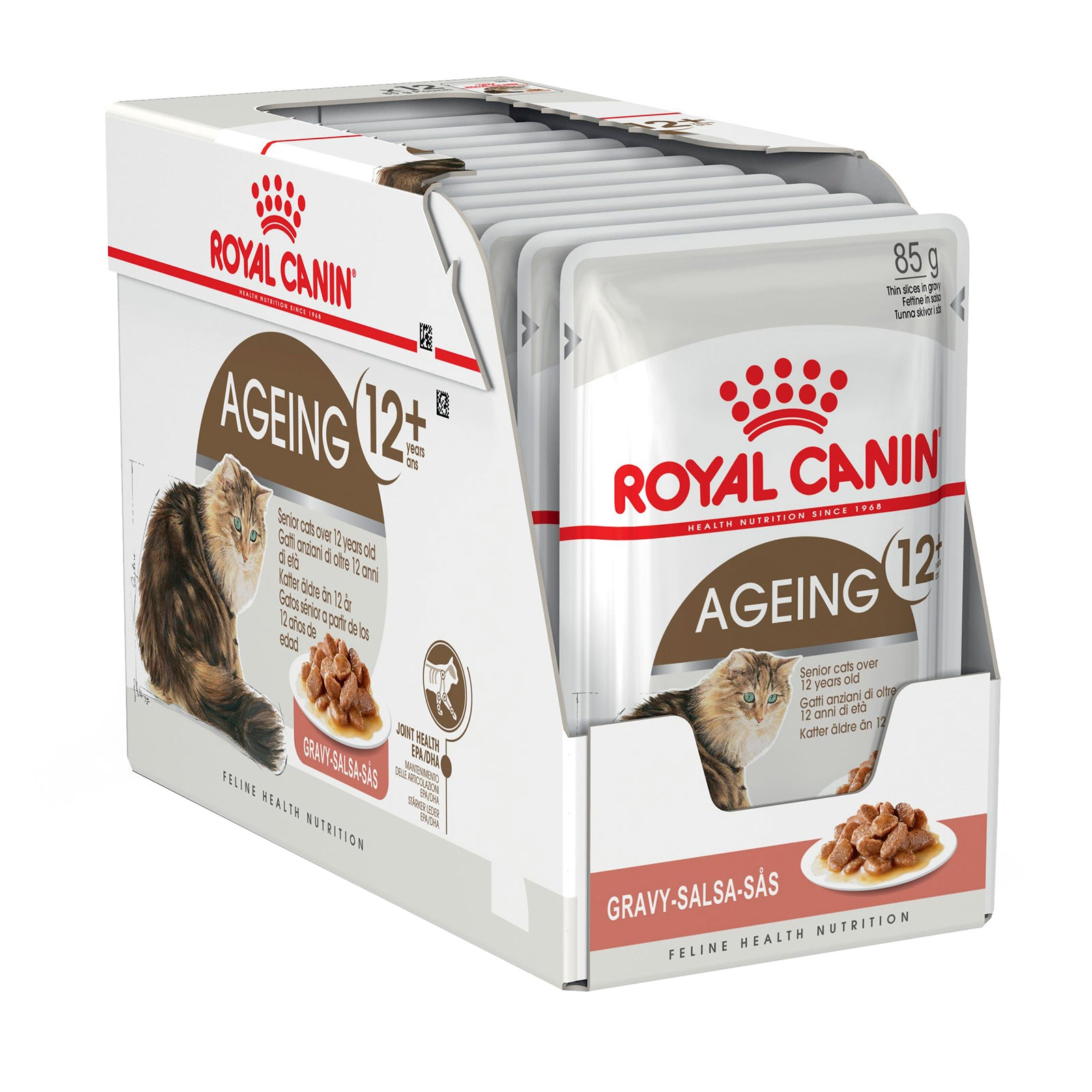 Royal Canin Cat Food Pouch Ageing 12+ Gravy