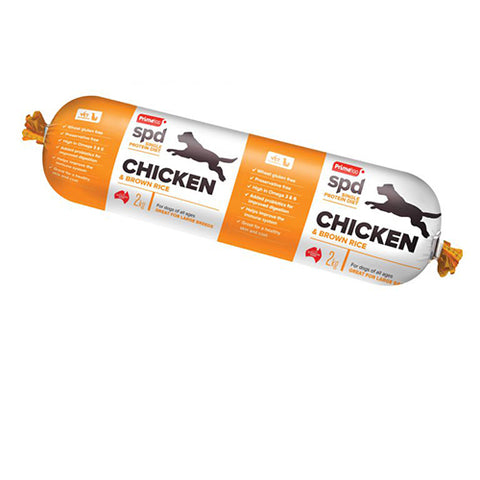 Prime SPD Chicken & Brown Rice Roll 2kg