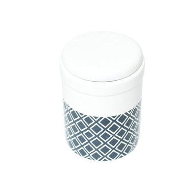 Treat Canister Navy Ikat 1.5L M&B