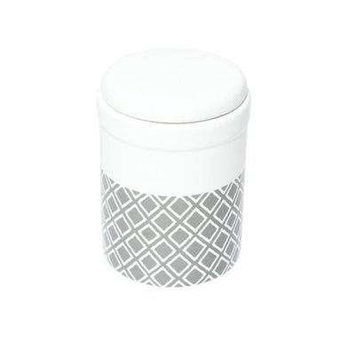 Treat Canister Grey Ikat 1.5L M&B
