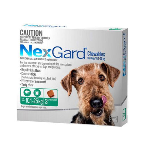Nexgard for Dogs Large 3 Pack