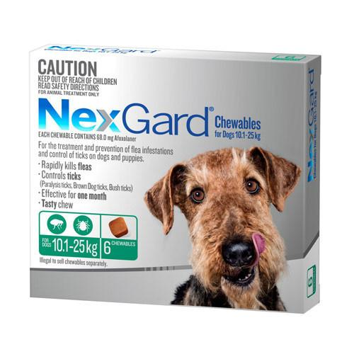 Nexgard For Large Dogs 10.1-25kg 6 Pack