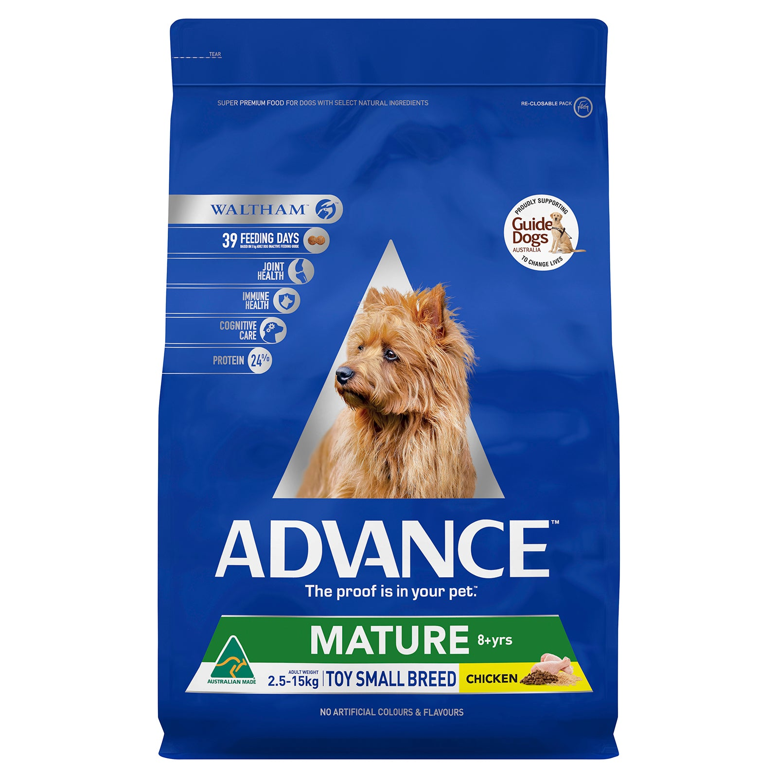 Advance Dog Food Mature Toy Small Breed Chicken