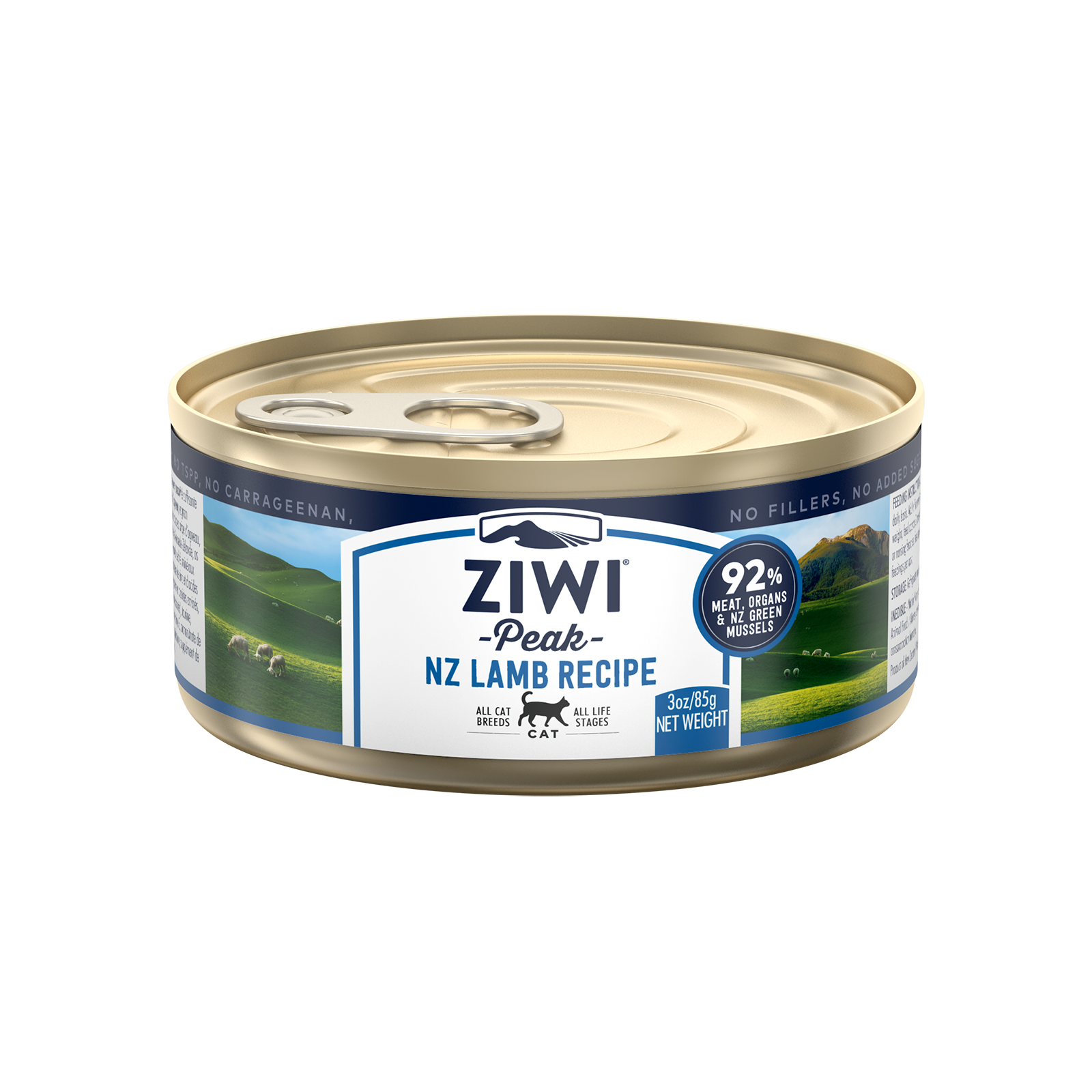 Ziwi Peak Cat Food Can Lamb 85g