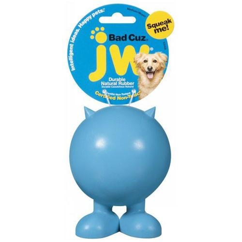JW Bad Cuz Rubber Dog Toy