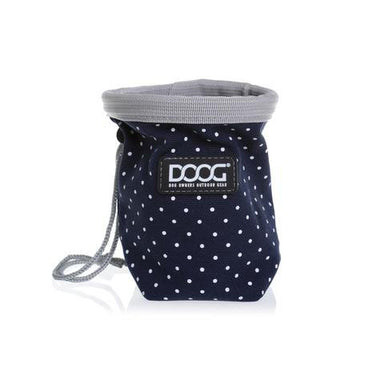 Dog Treat Pouch Navy/PolkaDot - Doog